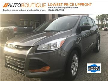 2014 Ford Escape for sale at Auto Boutique in Jacksonville FL