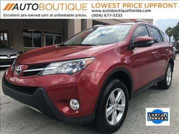 2014 Toyota RAV4 for sale in Jacksonville, FL