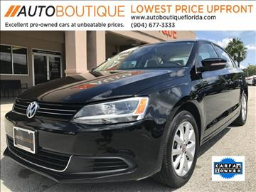 2013 Volkswagen Jetta for sale in Jacksonville, FL