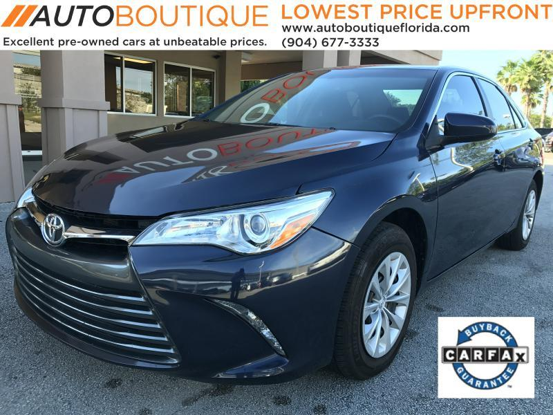 2015 Toyota Camry for sale at Auto Boutique in Jacksonville FL