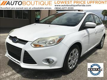 2012 Ford Focus for sale in Jacksonville, FL