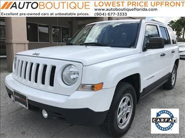 2012 Jeep Patriot for sale in Jacksonville, FL