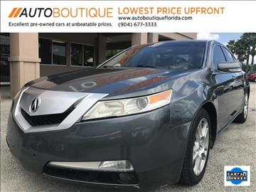 2010 Acura TL for sale at Auto Boutique in Jacksonville FL