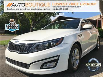 2015 Kia Optima for sale at Auto Boutique Ohio in Columbus OH