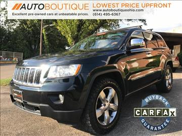 2011 Jeep Grand Cherokee for sale at Auto Boutique Ohio in Columbus OH