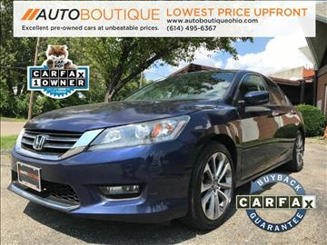 2014 Honda Accord for sale at Auto Boutique Ohio in Columbus OH