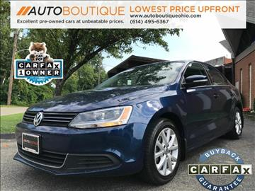 2014 Volkswagen Jetta for sale at Auto Boutique Ohio in Columbus OH