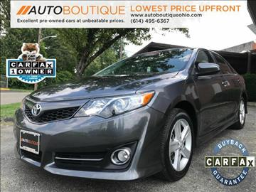 2014 Toyota Camry for sale at Auto Boutique Ohio in Columbus OH