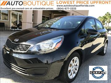 2015 Kia Rio for sale at Auto Boutique in Jacksonville FL