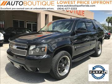 2007 Chevrolet Tahoe for sale at Auto Boutique in Jacksonville FL