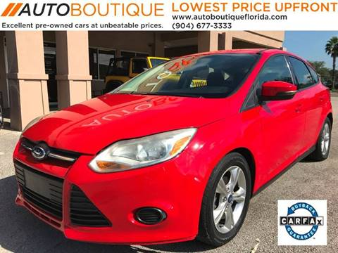 2014 Ford Focus for sale at Auto Boutique in Jacksonville FL