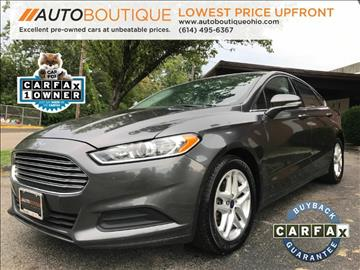 2015 Ford Fusion for sale at Auto Boutique Ohio in Columbus OH