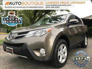 2014 Toyota RAV4 for sale at Auto Boutique Ohio in Columbus OH