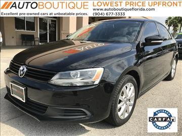 2011 Volkswagen Jetta for sale at Auto Boutique in Jacksonville FL