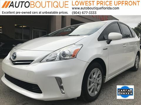 2014 Toyota Prius v for sale in Jacksonville, FL