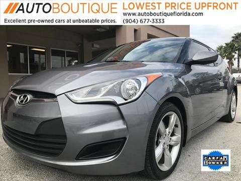 2015 Hyundai Veloster for sale at Auto Boutique in Jacksonville FL