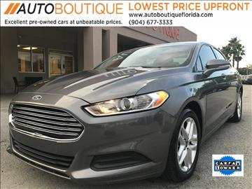 2014 Ford Fusion for sale at Auto Boutique in Jacksonville FL