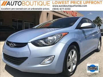 2013 Hyundai Elantra for sale at Auto Boutique in Jacksonville FL