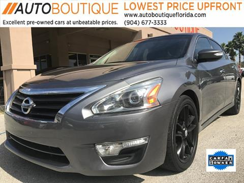 2014 Nissan Altima for sale at Auto Boutique in Jacksonville FL