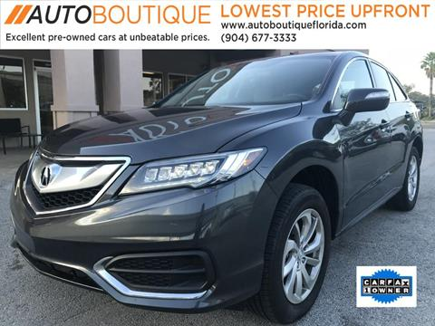 2016 Acura RDX for sale in Jacksonville, FL