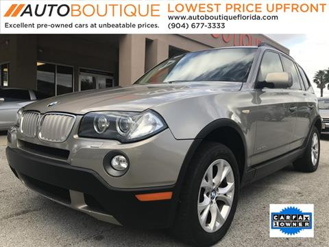 2009 BMW X3 for sale in Jacksonville, FL