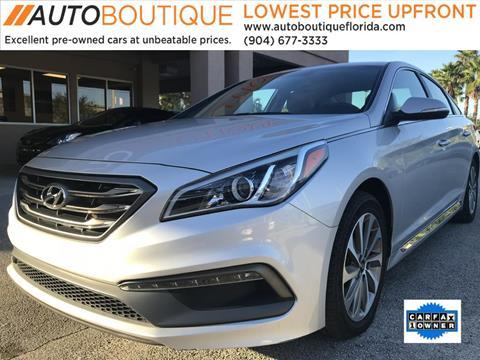 2015 Hyundai Sonata for sale in Jacksonville, FL