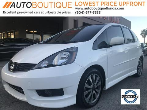 2013 Honda Fit for sale in Jacksonville, FL