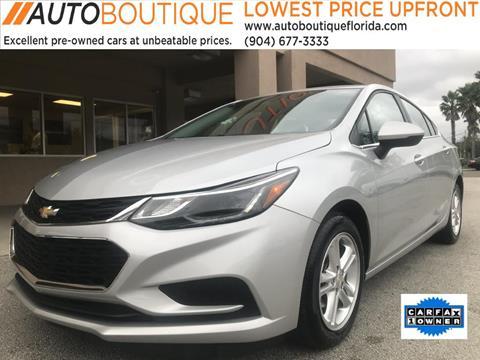 2016 Chevrolet Cruze for sale in Jacksonville, FL