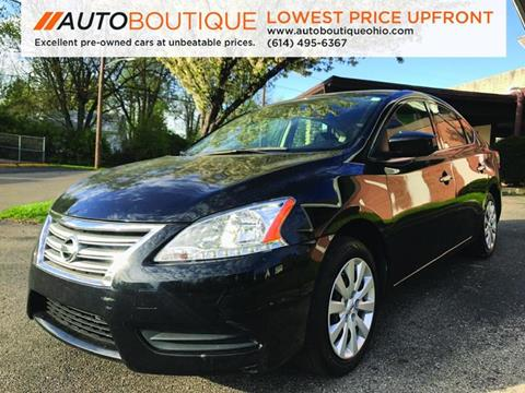 2014 Nissan Sentra for sale at Auto Boutique Ohio in Columbus OH