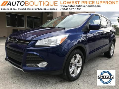 2015 Ford Escape for sale at Auto Boutique in Jacksonville FL