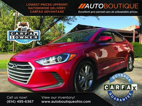 2017 Hyundai Elantra for sale at Auto Boutique Ohio in Columbus OH