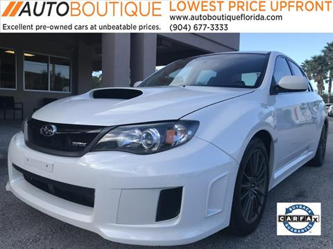 2011 Subaru Impreza for sale at Auto Boutique in Jacksonville FL