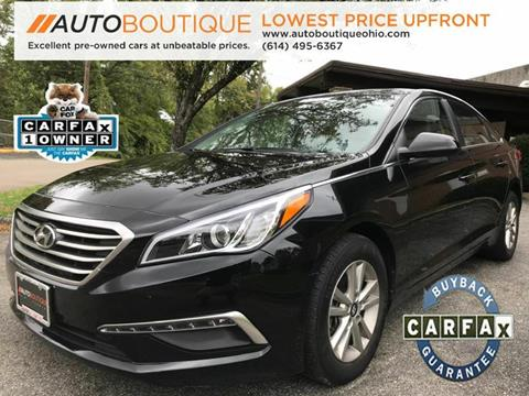 2015 Hyundai Sonata for sale at Auto Boutique Ohio in Columbus OH
