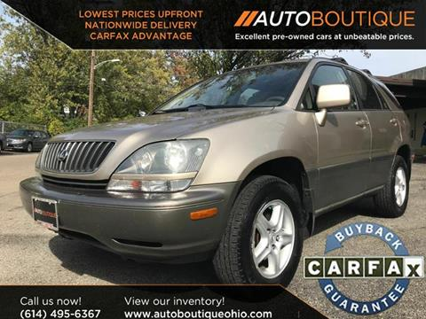 2000 Lexus RX 300 for sale at Auto Boutique Ohio in Columbus OH