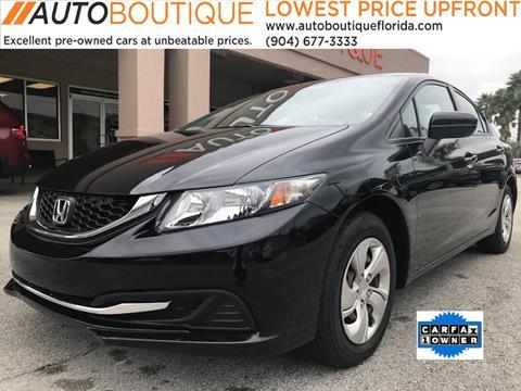2014 Honda Civic for sale in Jacksonville, FL