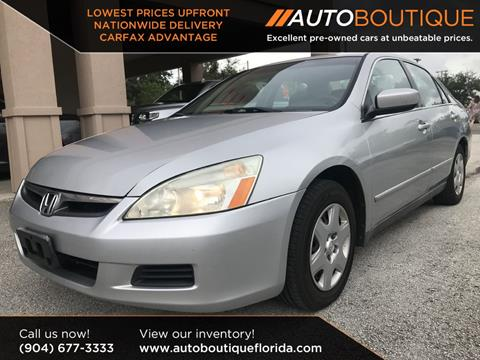 2007 Honda Accord For Sale In Jacksonville, FL