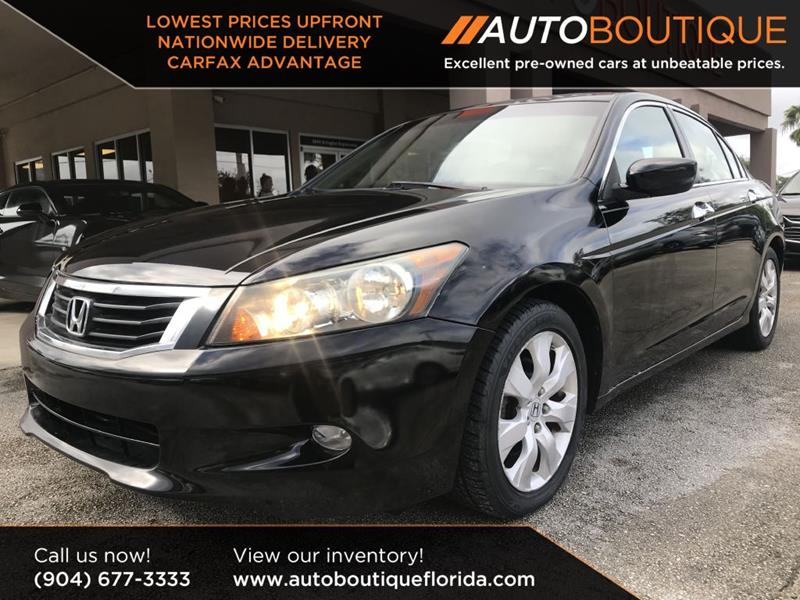 2009 Honda Accord For Sale At Auto Boutique In Jacksonville FL