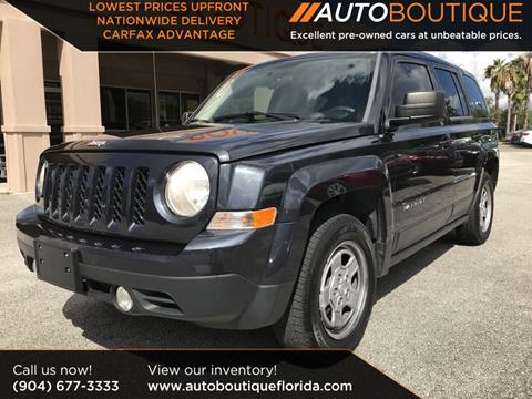 2014 Jeep Patriot for sale in Jacksonville, FL