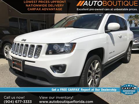 2016 Jeep Compass for sale in Jacksonville, FL