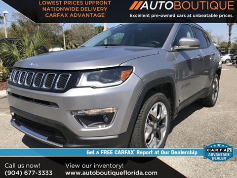 2018 Jeep Compass for sale in Jacksonville, FL