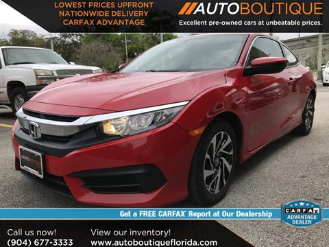 2016 Honda Civic for sale in Jacksonville, FL
