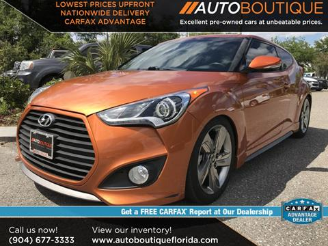 2015 Hyundai Veloster Turbo for sale in Jacksonville, FL