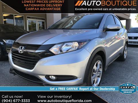 2017 Honda HR-V for sale in Jacksonville, FL