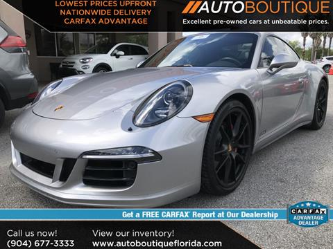 2016 Porsche 911 for sale in Jacksonville, FL