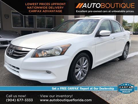 2012 Honda Accord for sale in Jacksonville, FL