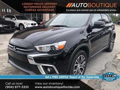 2018 Mitsubishi Outlander Sport for sale in Jacksonville, FL