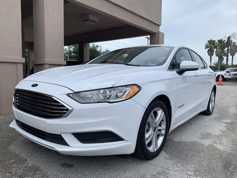 2018 Ford Fusion Hybrid for sale in Jacksonville, FL