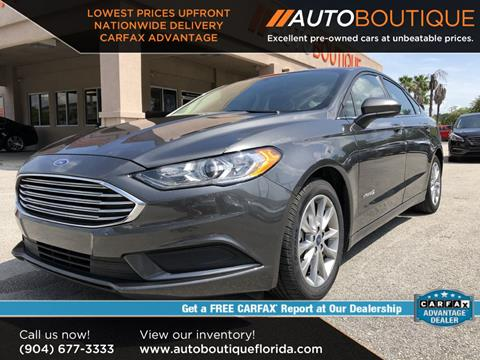 2017 Ford Fusion Hybrid for sale in Jacksonville, FL