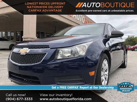 Cars For Sale Jacksonville Fl >> 2014 Chevrolet Cruze For Sale In Jacksonville Fl