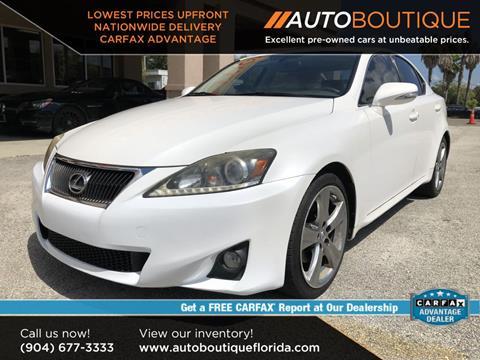 Lexus Jacksonville Fl >> Lexus Is 250 For Sale In Jacksonville Fl Auto Boutique